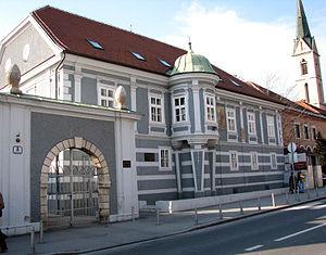 Kaptol manors in Zagreb - Image: Kaptol 8, Zagreb