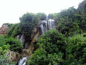 Karacaoğlan River - Karacaoğlan Waterfall in Mersin Province, Turkey
