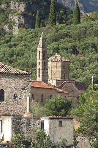 Kardamyli - The Church of St. Spyridon in Old Kardamili