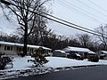 Karl Road, houses in the late March snow, Hollin Hall area.jpg