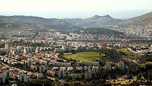 Karmiel - Image: Karmiel Israel 2008