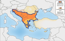 Vùng Balkan theo giáo sư R. J. Crampton