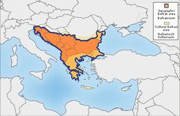 La región Balkan según Prof RJ Crampton