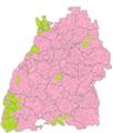 Karte Volksabstimmung zu Stuttgart 21 Gemeinden.png