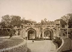 Kashmiri Gate, Delhi in the 1890s.jpg