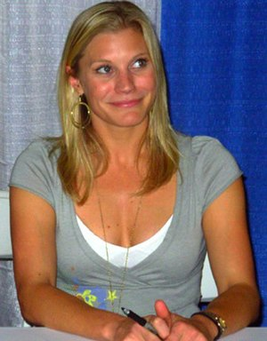 Katee Sackhoff - Sackhoff at the 2008 Wizard World Convention