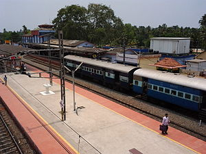 Kayamkulam Junction railway station - Image: Kayamkulam Railway Station