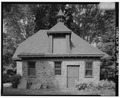 Keasbey and Mattison Company, Executive's House, Carriage House, 8 Lindenwold Avenue, Ambler, Montgomery County, PA HABS PA,46-AMB,10M-4.tif