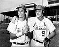 Keith Hernandez Marc Hill St. Louis Cardinals 1972.JPG