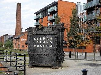 Upper Don Walk - The walk passes the Kelham Island Museum.
