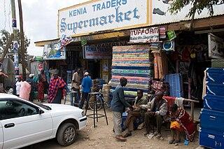 Narok Town in Narok County, Kenya