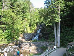 Kent Falls (en Kent Falls State Park, Kent).