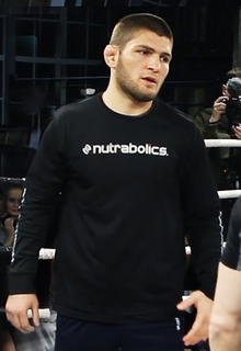 khabib nurmagomedov from wikipedia