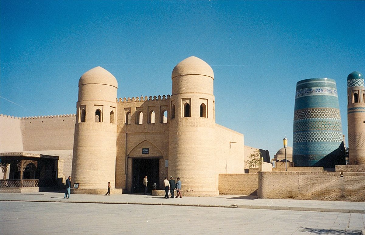 Khiva Travel Guide At Wikivoyage