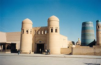 Itchan Kala - Image: Khiva West Gate
