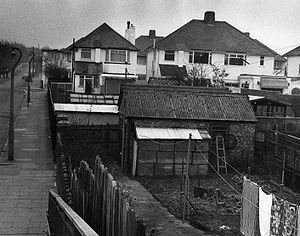 Kidbrooke - Houses and gardens in Kidbrooke, January 1980