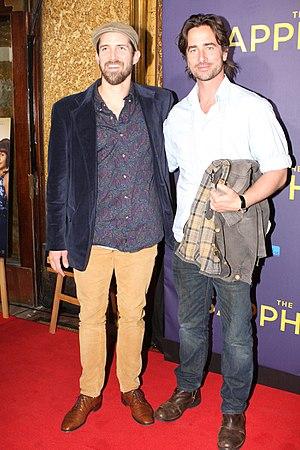 Kip Gamblin - Kip Gamblin (right) appearing at the premiere of The Sapphires.