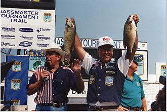 Bass Anglers Sportsman Society - Kim Stricker, Lake St. Clair, MI, 2014