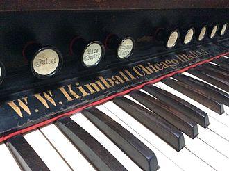 Kimball International - A Kimball Reed Organ.