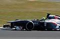 Kimiya Sato Sauber 2013 Silverstone F1 Test 001.jpg