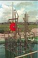 Kinetic Sculpture Under Constrution - Science City - Calcutta 1995-08-17 407.JPG