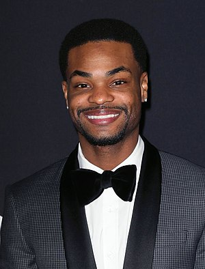 King Bach - Bachelor at the Fifty Shades of Black premiere in January 2016