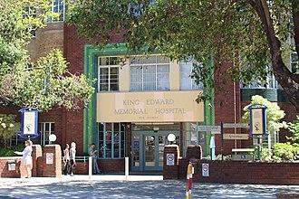 King Edward Memorial Hospital for Women - Main entrance