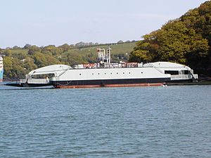 Carrick Roads - Image: King Harry Ferry Carrick Roads
