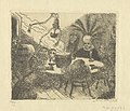 King Pest, print by James Ensor, 1895, Prints Department, Royal Library of Belgium, S. II 79733.jpg
