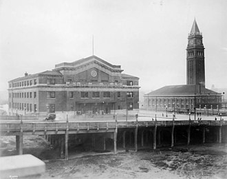 King Street Station - King Street Station and Union Station, 1913
