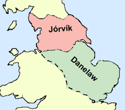 Location of Jorvikas