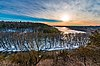 Kinnickinnic River Winter Sunset, Winter in Wisconsin (39186253751).jpg