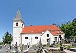 Catholic parish church hl.  Oswald with a walled churchyard