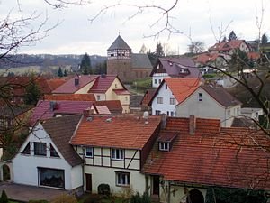 Grillenberg (Sangerhausen) - View of the village church