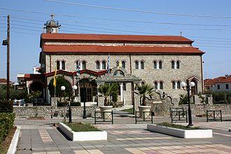 Leptokarya - A church
