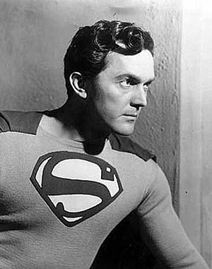 Kirk Alyn - Kirk Alyn as Superman in the 1948 movie serial