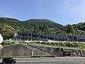 Kitakyushu Expressway Route 4 and Mount Sarakurayama.jpg