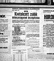 Kivételezett zsidók élemiszerjegyeinek beszolgáltatása, 1944-10-23. Fortepan 72896.jpg