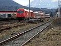 Klagenfurt Sankt Ruprecht Eisenbahnlinie Station Vikting Glanfurt 06022008 33.jpg