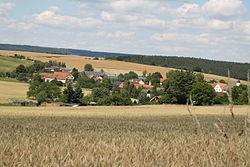 Kleinbockedra, Dorfpanorama.JPG