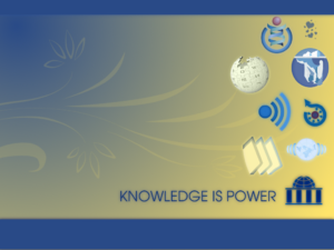 "Knowledge is Power ""Wikimedia Project&quo..."
