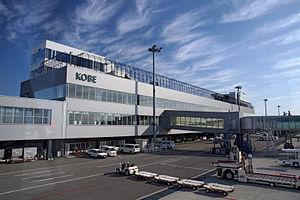Kobe Airport - Image: Kobe Airport 06s 5s 3200