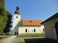 Kocevje Trata Cerkev Presvetega Resnjega Telesa Gottschee Kirche Corpus Christi.jpg