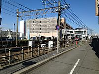 Konomiya Station from southeast 20150124.JPG