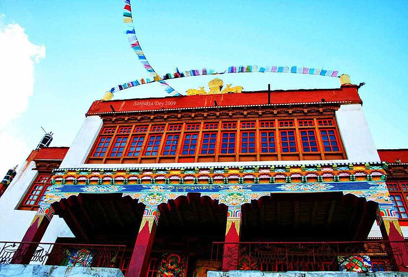 File:Korzok Gompa, Korzok Village, Rupshu Valley, Ladakh, Jammu & Kashmir, India - 26.08.09.jpg