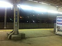 Kosuge station - night - Jan 2015.jpg