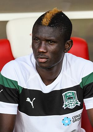 Eboue Kouassi - With FC Krasnodar in 2016