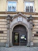 Kraków Kanonicza1portal.JPG