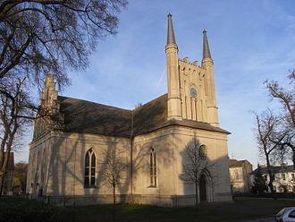 Joachimsthal, Brandenburg - Church of the Cross