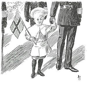 Andreas Bloch - Image: Kronprins olav 1906 av a bloch